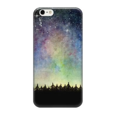 Чехол для iPhone 6/6s Космическое звездное небо