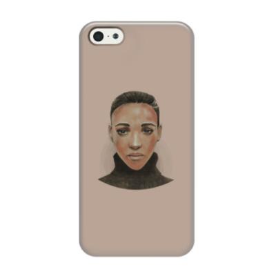 Чехол для iPhone 5/5s Эфиопская девушка