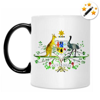 Кружка-хамелеон Герб Австралии