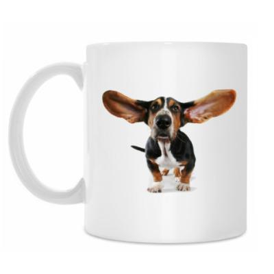 Кружка Собака Длинные уши