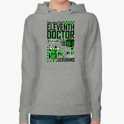 Женская толстовка худи Одиннадцатый Доктор