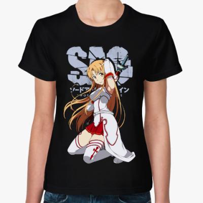 Женская футболка Асуна. Sword Art Online