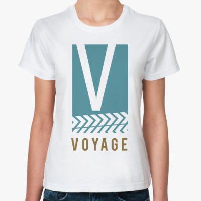 Классическая футболка Вояж