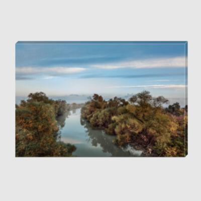 Холст Река Казачий Ерик