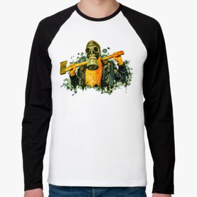Футболка реглан с длинным рукавом Zombie Killer