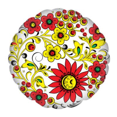 Подушка Цветник