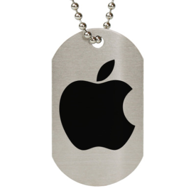 Жетон dog-tag Apple