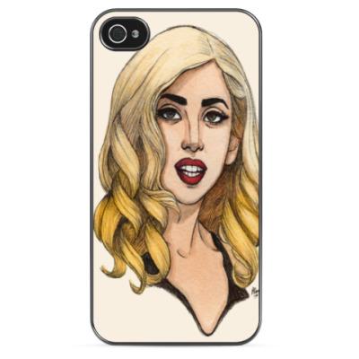Чехол для iPhone LADY GAGA