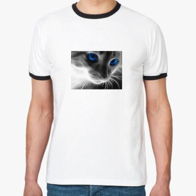 Футболка Ringer-T котик