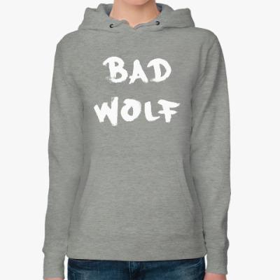 Женская толстовка худи Bad Wolf Доктор Кто