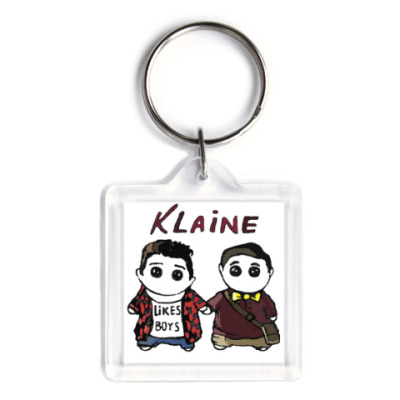 Брелок Klaine ( Glee Cast )