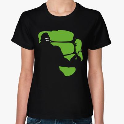 Женская футболка ХАЛК (HULK)