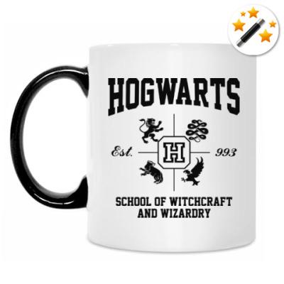 Кружка-хамелеон Hogwarts