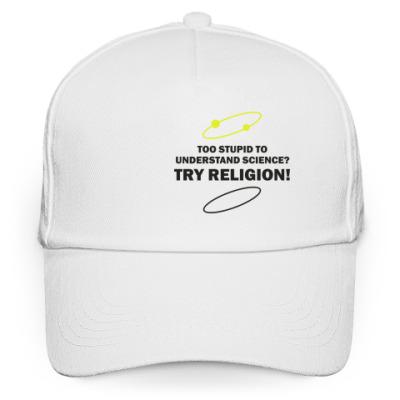 Кепка бейсболка TRY RELIGION!