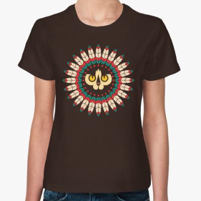 Женская футболка Cat Spirit Animal