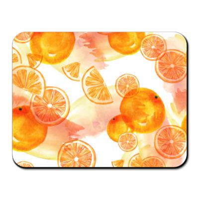 Коврик для мыши Апельсиновый позитив