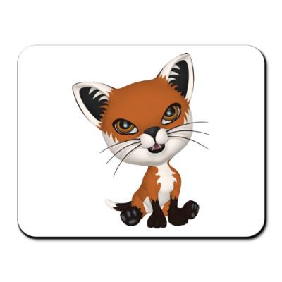 Коврик для мыши Рыжий котенок
