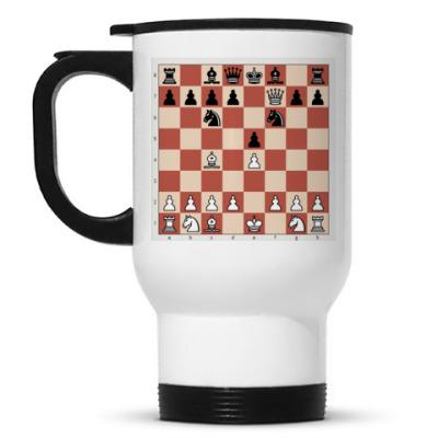 Кружка-термос Кружка-. Шахматы