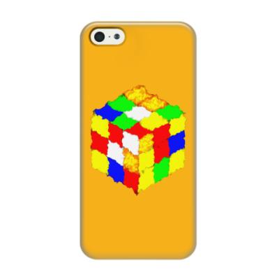 Чехол для iPhone 5/5s Кубик Рубика