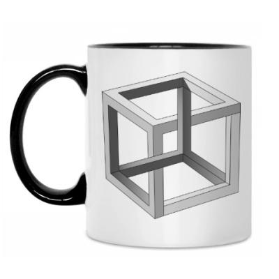 Кружка Невозможный Куб 3D