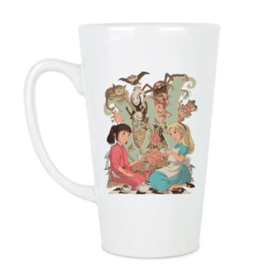 Чашка Латте Wonderland Alice and Chihiro