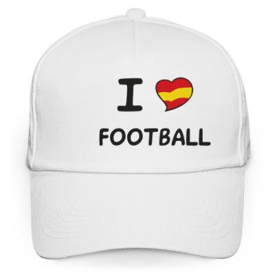 Кепка бейсболка Я люблю испанский футбол