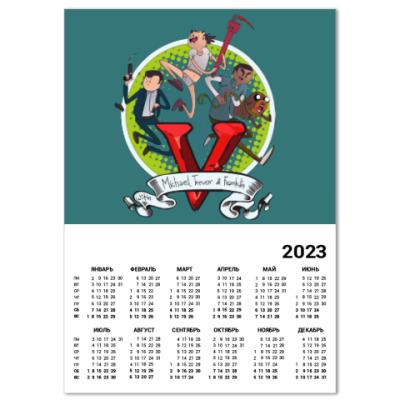 Календарь Grand Theft Auto
