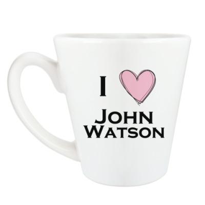 Чашка Латте I <3 John Watson