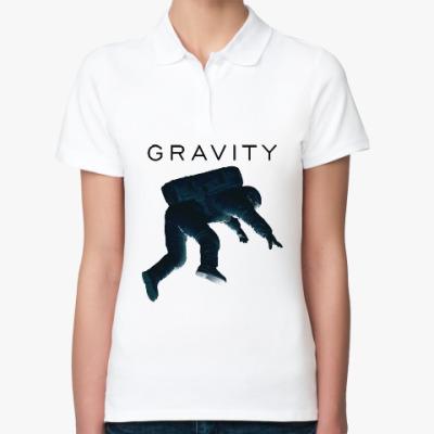 Женская рубашка поло Gravity