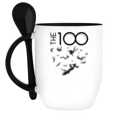 Кружка с ложкой The 100
