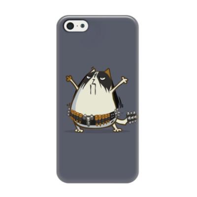 Чехол для iPhone 5/5s Металкот — Пятничный Котик №29