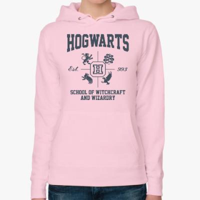 Женская толстовка худи Hogwarts