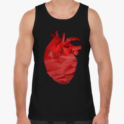 Майка Сердце 3D