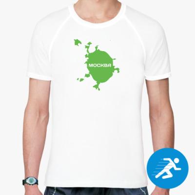 Спортивная футболка Москва