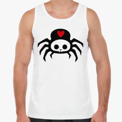 Майка  Spider Skull