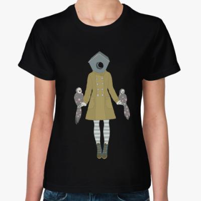 Женская футболка Birdhouse girl