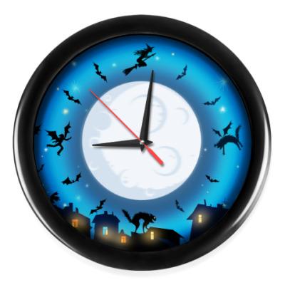 Настенные часы Часы для ведьм и ведьмаков