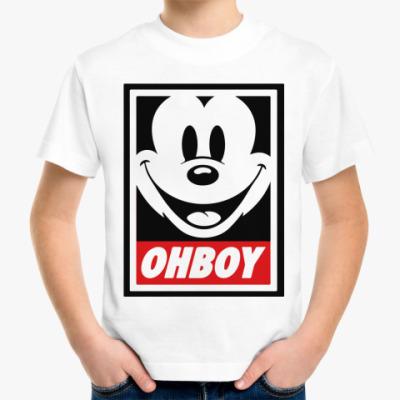 Детская футболка OHBOY