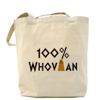 Сумка 100% Whovian Далек Доктор Кто