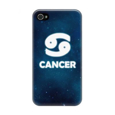 Чехол для iPhone 4/4s Знак зодиака. Рак