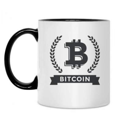 Кружка Bitcoin - Биткоин