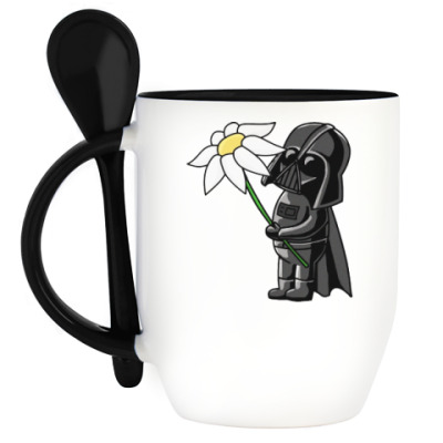 Кружка с ложкой Star Wars: Darth Vader