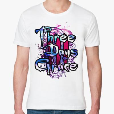 Футболка из органик-хлопка Three Days Grace