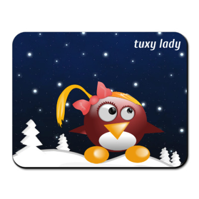 Tuxy lady new year