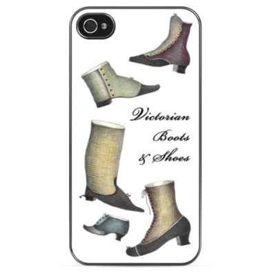 Чехол для iPhone 'Ретро-обувь'