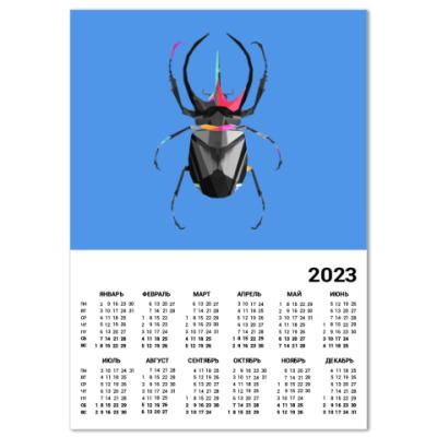 Календарь Жук
