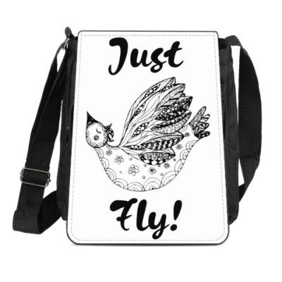 Сумка-планшет Just Fly!