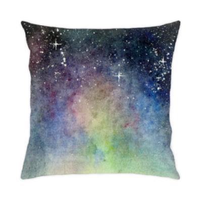 Подушка Космическое звёздное небо