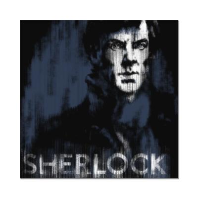 Наклейка (стикер) Шерлок