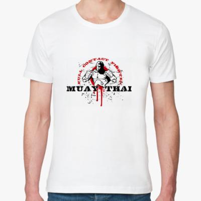 Футболка из органик-хлопка Muay Thai